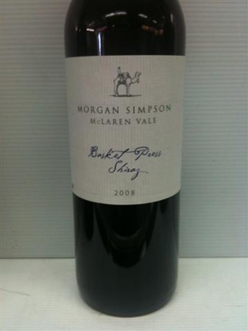 Morgan Simpson McLaren Vale Basket Press Shiraz 2013